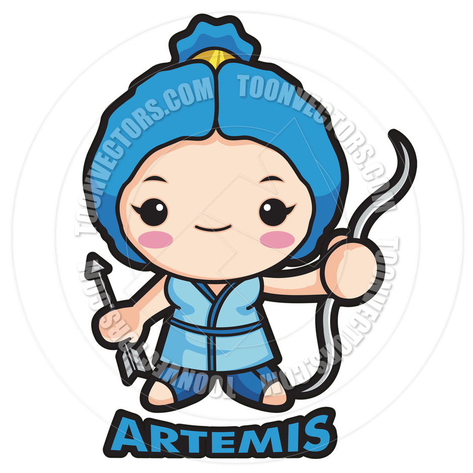 Artemis Clipart.