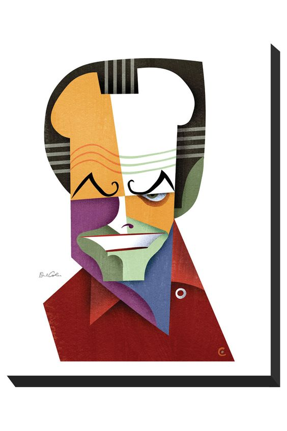 "Jack"" (CARICATURE) by: David Cowles, http://dunway.com."