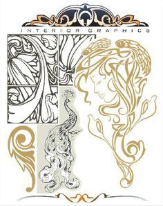 Nouveau Pattern, by Rosie Sutcliffe.