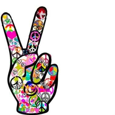 Artful S Peace Signjpg Photo By Ofhsfootball Clipart.