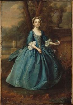 18th Century Aprons from Historic Paintings.