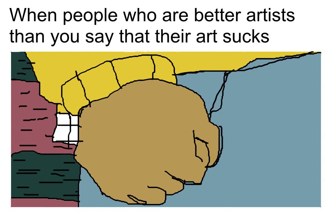 Arthur's fist.