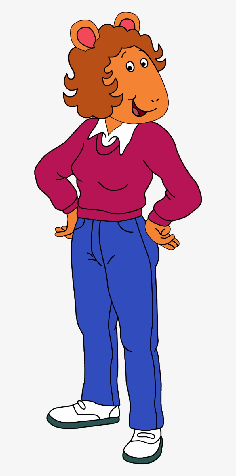 Download Free png Arthur Png Pack Arthur's Mom Vs Caillou's Mom.