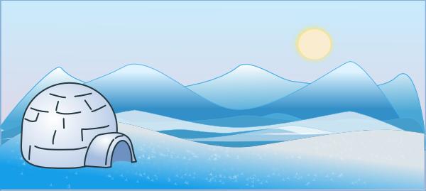 Cold Climate Scene Clip Art At Clker Com Vector Clip Art.