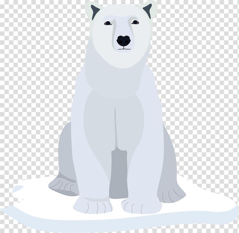 Polar bear Arctic Snow Winter, arctic snow winter snows.