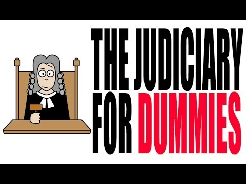 Article III For Dummies: The Judiciary Explained.