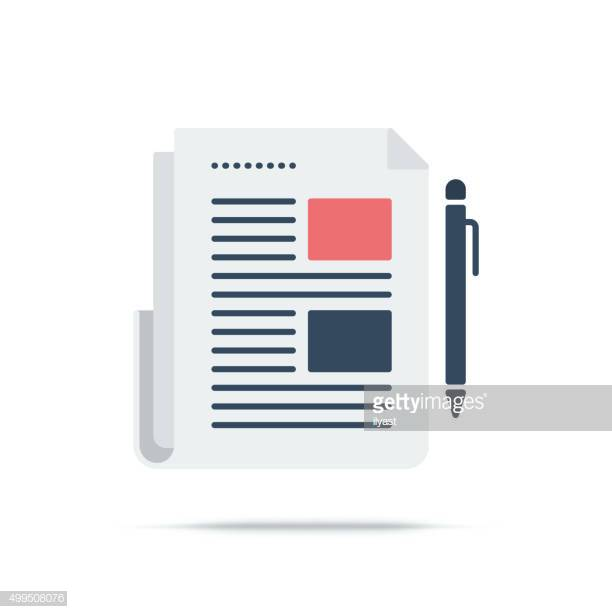 60 Top Article Stock Illustrations, Clip art, Cartoons and Icons.