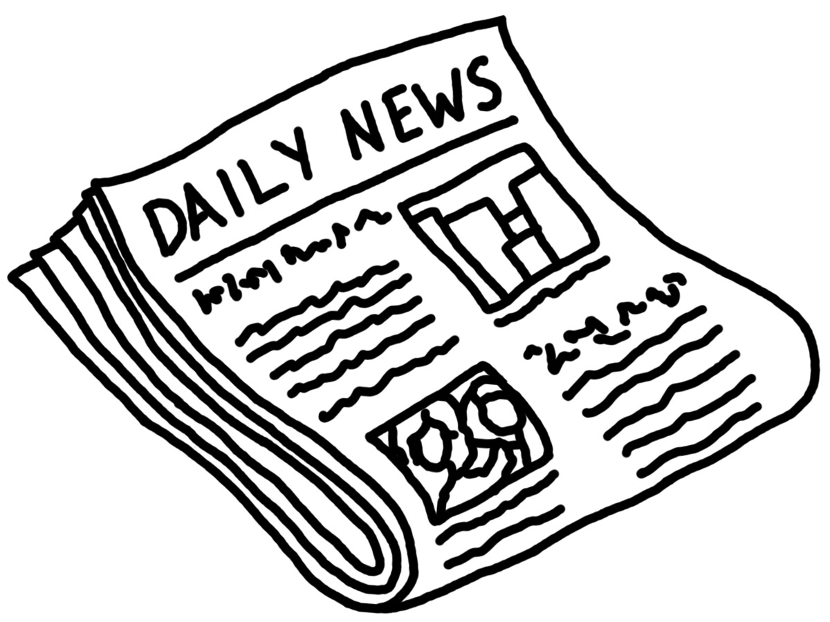 News article clipart.