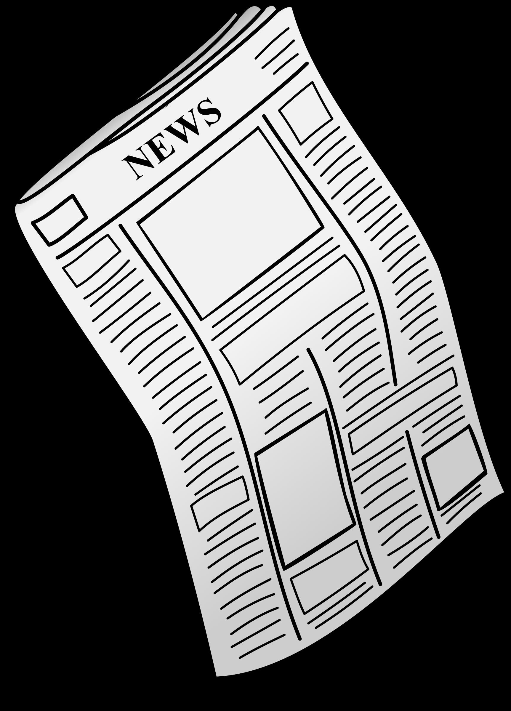 Free newspaper Clip art.
