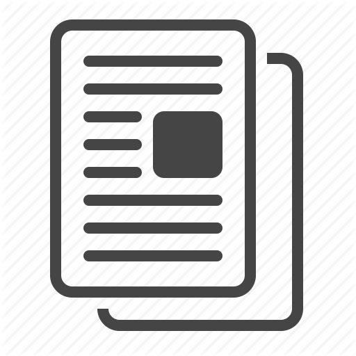 Article Icon Png #71975.