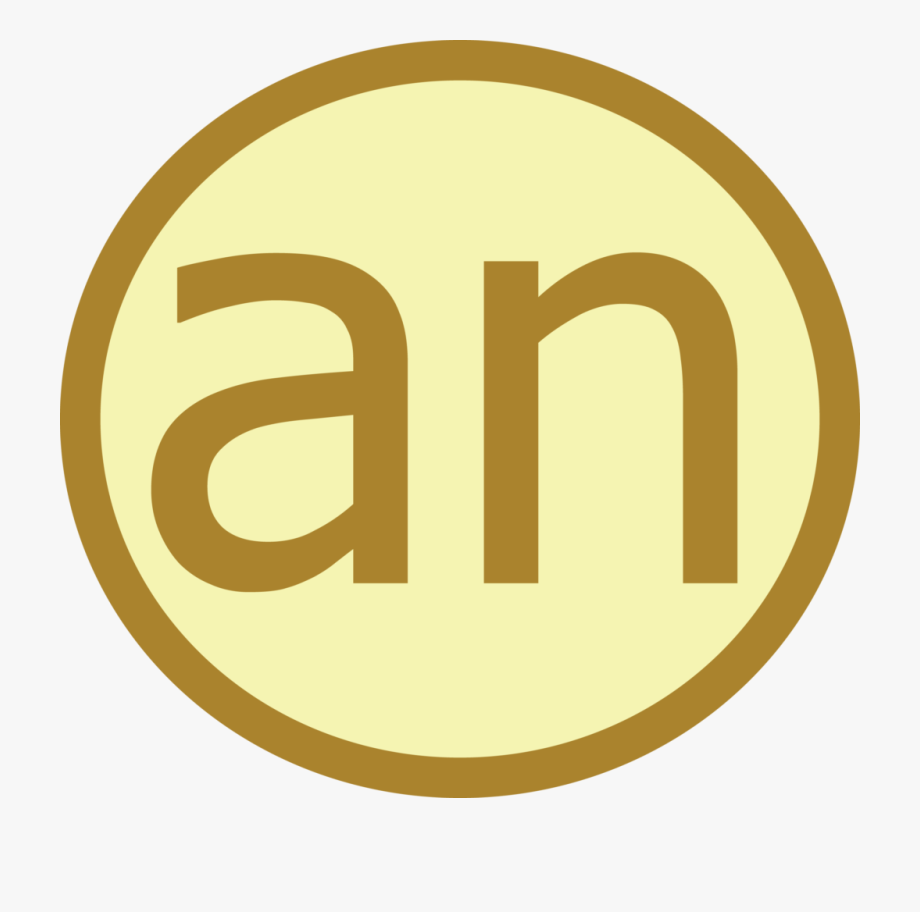 An Icon Showing The Article An.