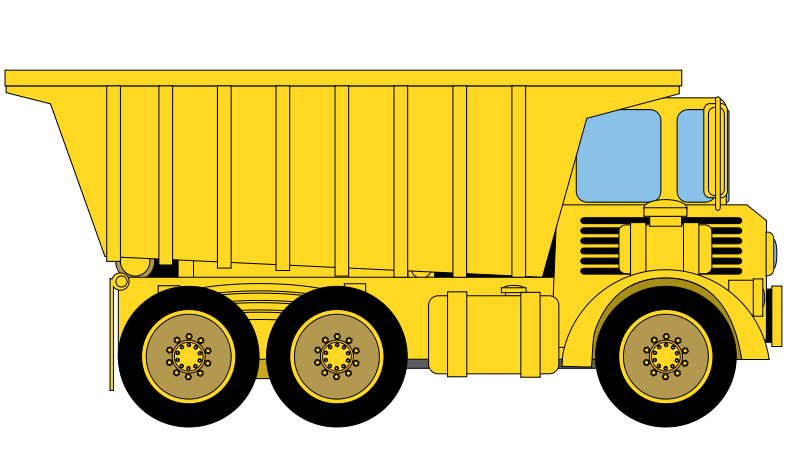 Articulated Vehicles Clipart
