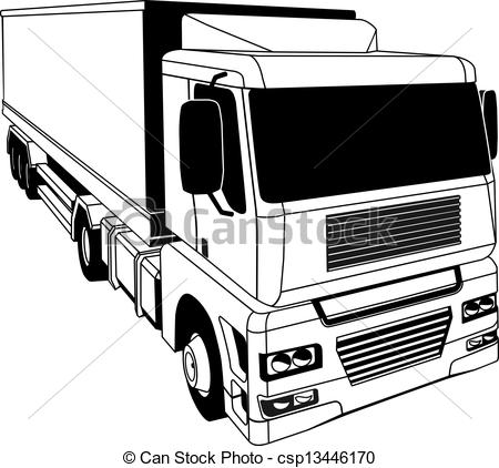 Articulated lorry Clipart Vector and Illustration. 102 Articulated.