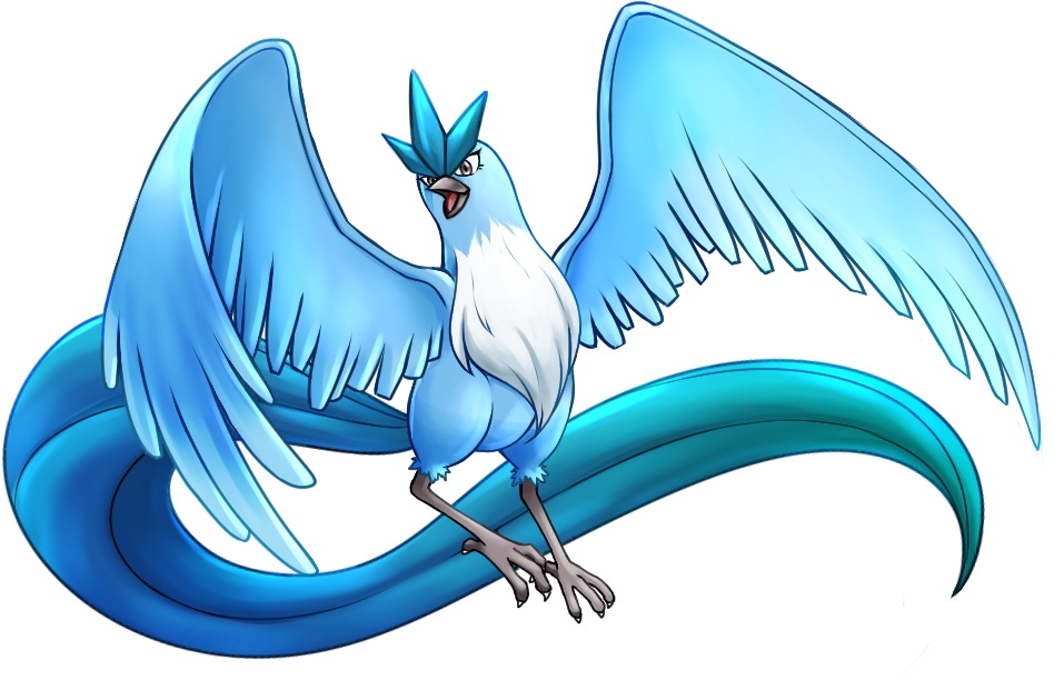 Download Articuno PNG Image with No Background.