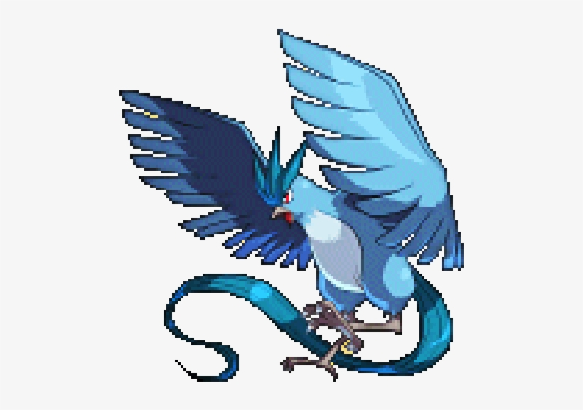 Birds Ice Flying Articuno Legendary Pokemon Conquest.