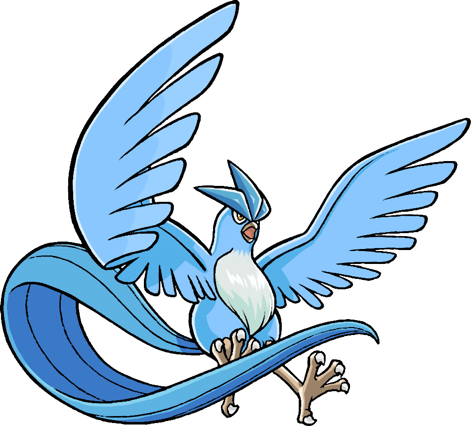 Articuno Pokemon transparent PNG.