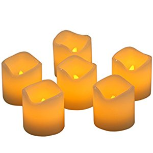 Amazon.com: Homemory Flameless LED Wax Candles, 2 Inch, Pack of 6.