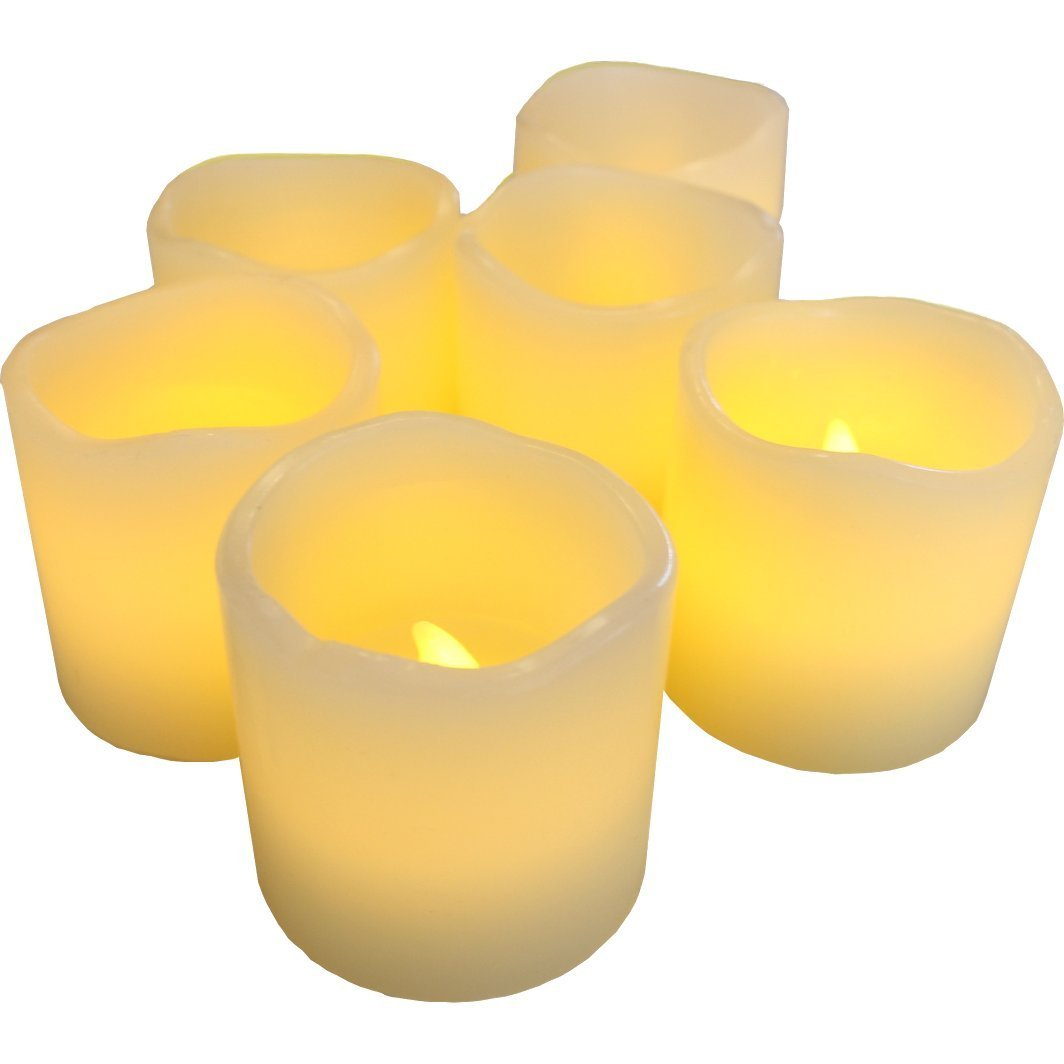 Amazon.com : LED Lytes Flameless Candles, Battery Operated Votive.