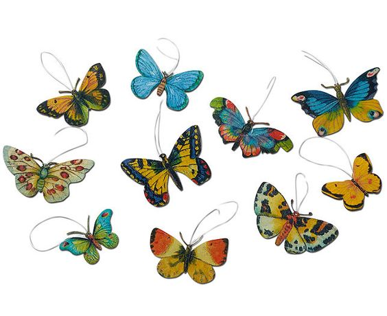 Hanging Butterflies (Set of 10).