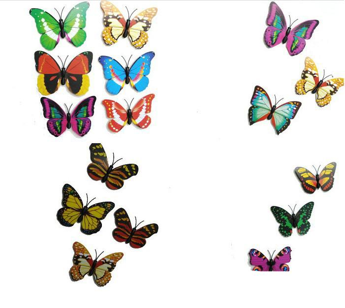 Artificial Butterflies 3d Colorful Artificial Butterflies Dummy.