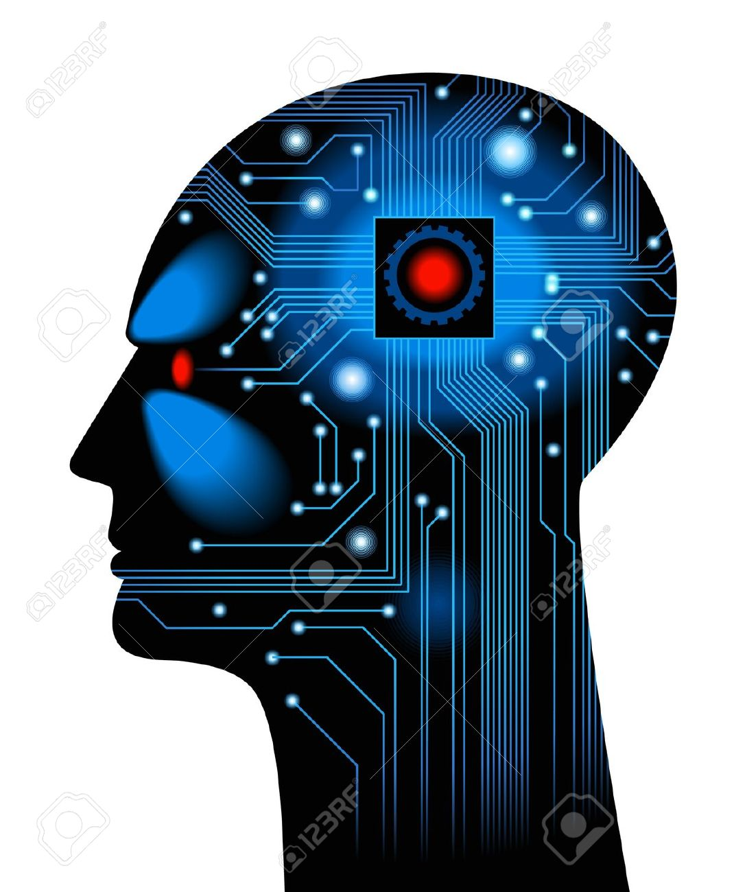 Artificial intelligence clipart.
