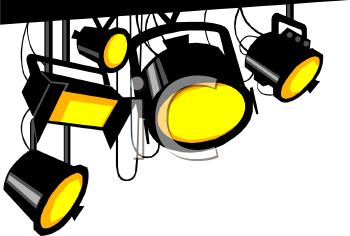 Artificial Lights Clipart.