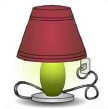 Free Lamp Clipart.