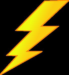Lighting Bolt Clip Art.