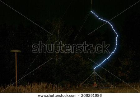 Lightning Arrester Stock Photos, Royalty.