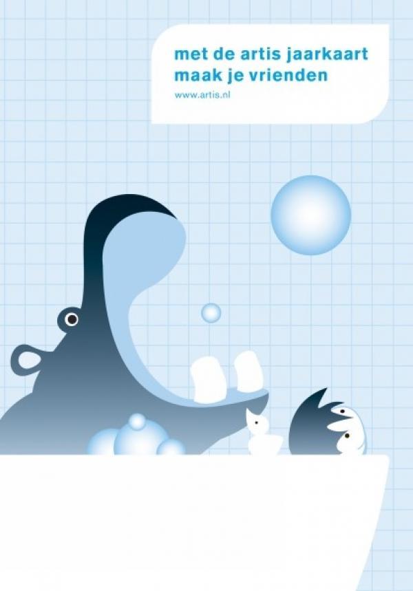"""Artis Zoo: """"HIPPO"""" Print Ad by FHV BBDO Amsterdam."""