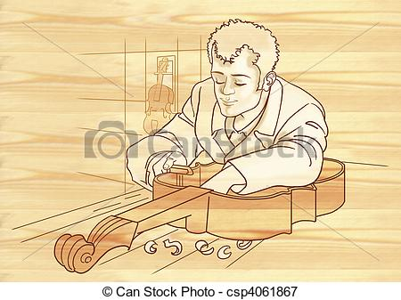 Luthier Stock Illustrations. 6 Luthier clip art images and royalty.