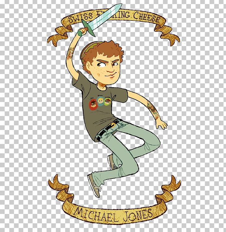 Michael Jones Rooster Teeth Achievement Hunter Illustration.