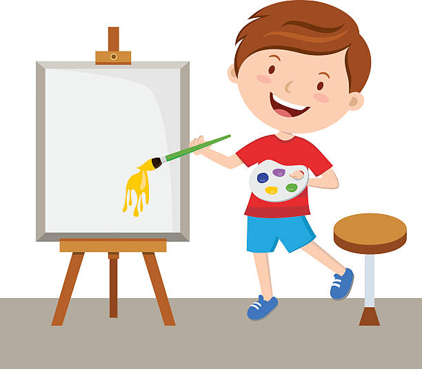 Best Child Artist Illustrations, Royalty.