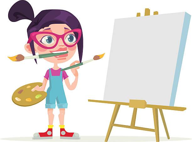 Best Painter Artist Illustrations, Royalty.