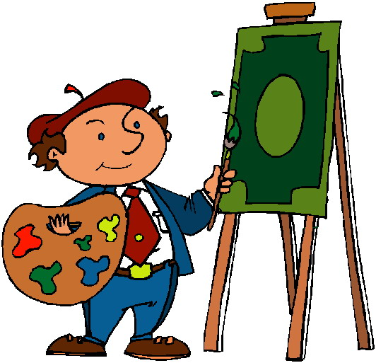 Clip Art Activities Painting.