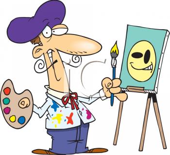artist clipart images.