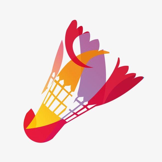 Color Badminton, Color Clipart, Badminton Clipart, Color PNG.
