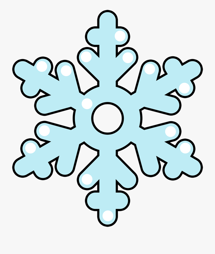 Free To Use &, Public Domain Snowflakes Clip Art.