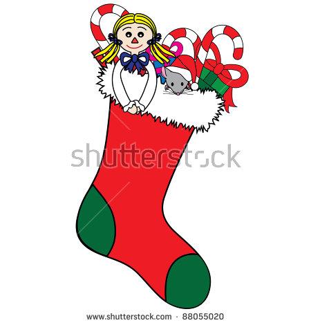Clip Art Illustration Rag Doll Sitting Stock Illustration 88647457.