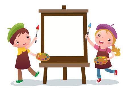 8,699 Easel Stock Vector Illustration And Royalty Free Easel Clipart.