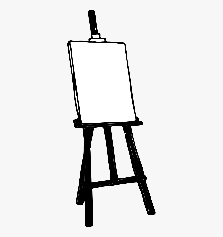 Easel Cliparts.