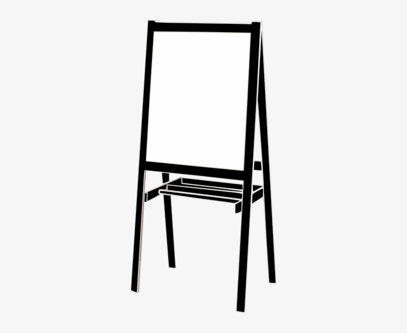 Poster Clipart Easel Stand.