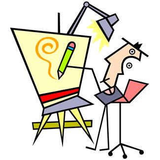 Art gallery clip art.
