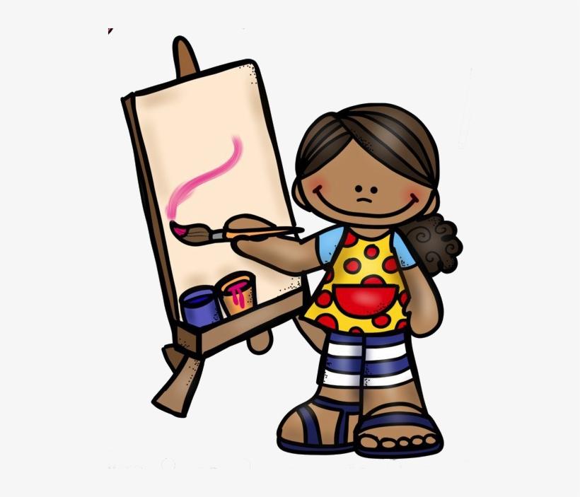 Melonheadz Kids Artist Clipart Art Clip Art.