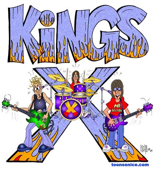 Kings X Cartoon by Michael Fischer.
