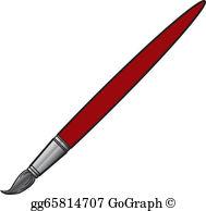 Artist Paint Brush Clip Art.