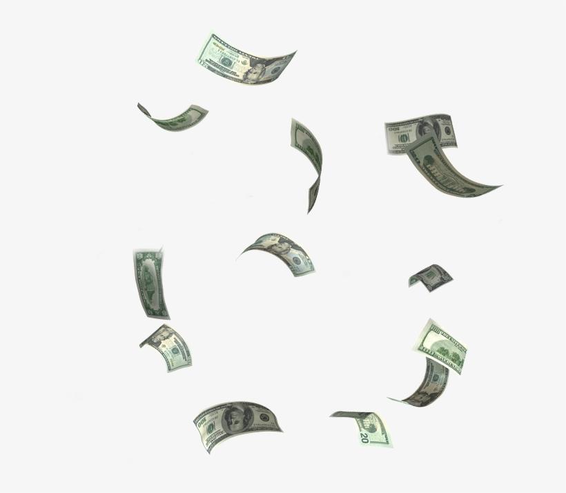 Money Falling Png.