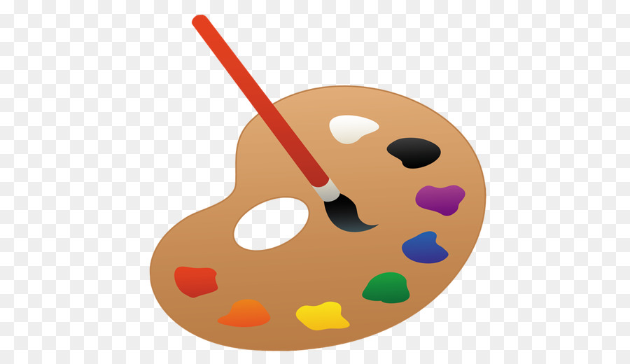 Paint Brush Cartoon.