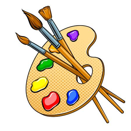 16,792 Artist Palette Stock Illustrations, Cliparts And Royalty Free.