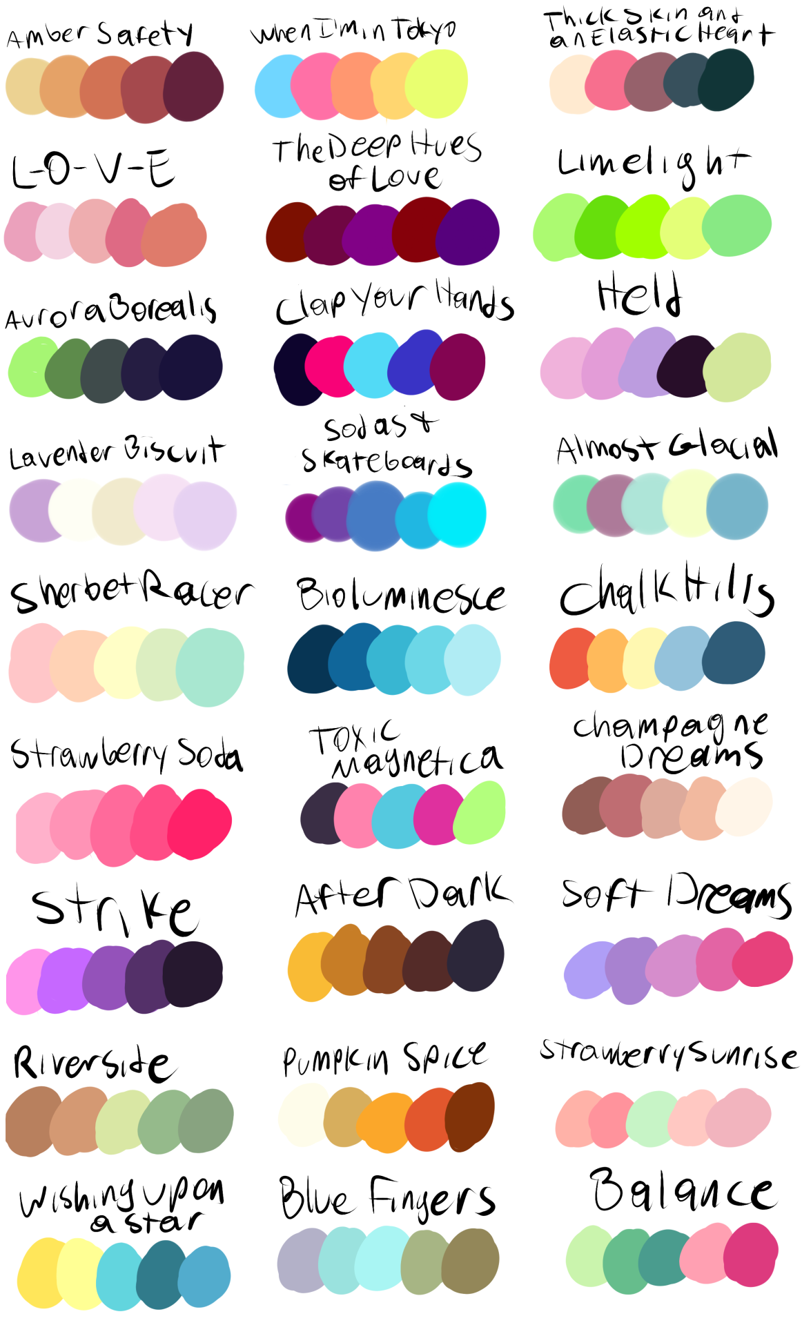 Put a Character + a Color Palette in My Ask Box and I\'ll.